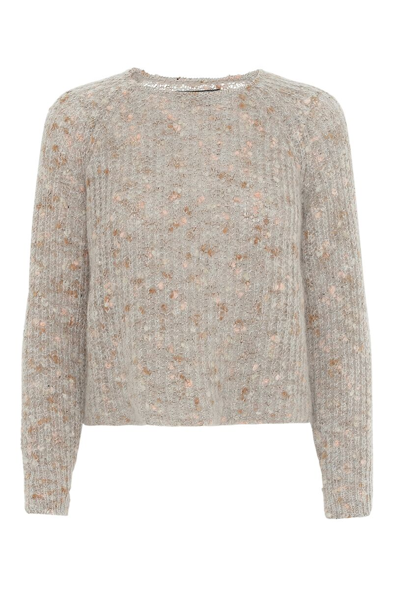 Image of   A-Zoey Sweater - Multicolour Farve