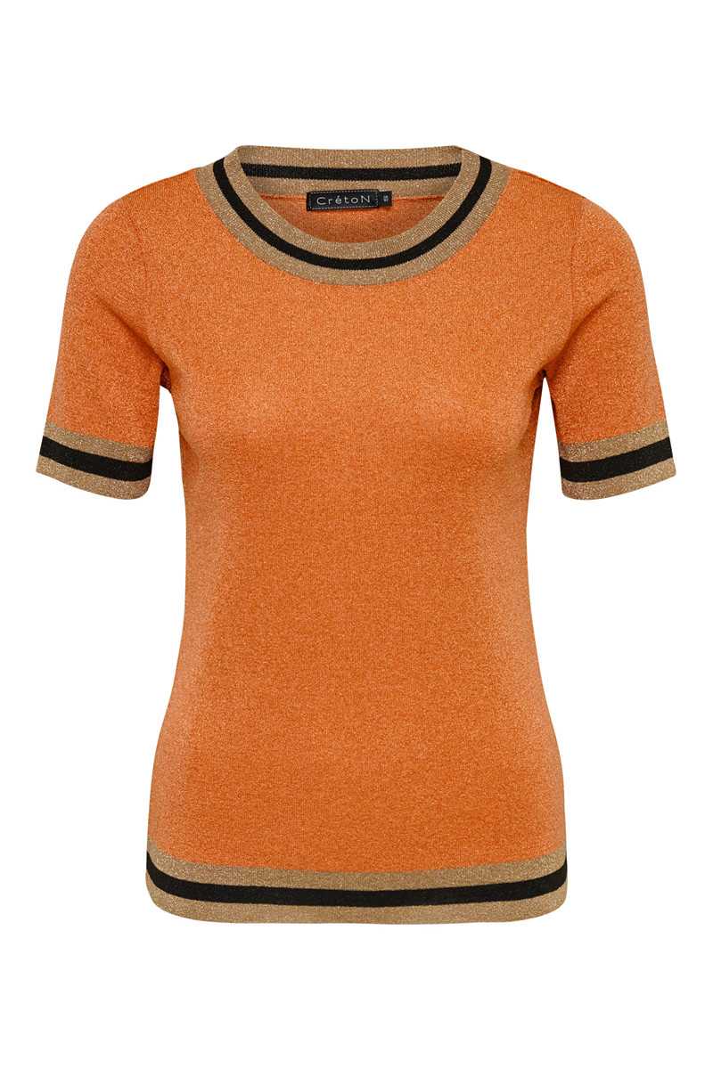 Image of   Sporty Strik i 2 Farver - Orange