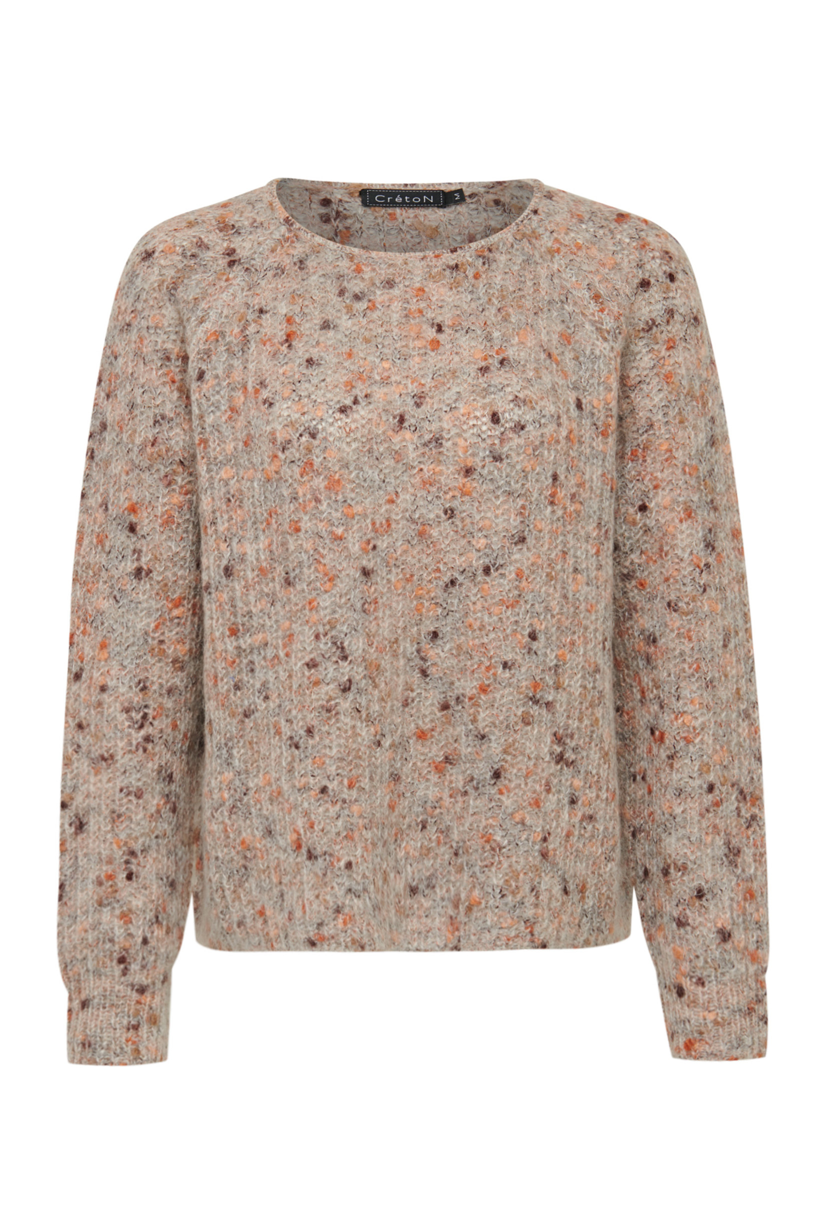 Image of   A-Zoey Sweater i 2 farver - Peach
