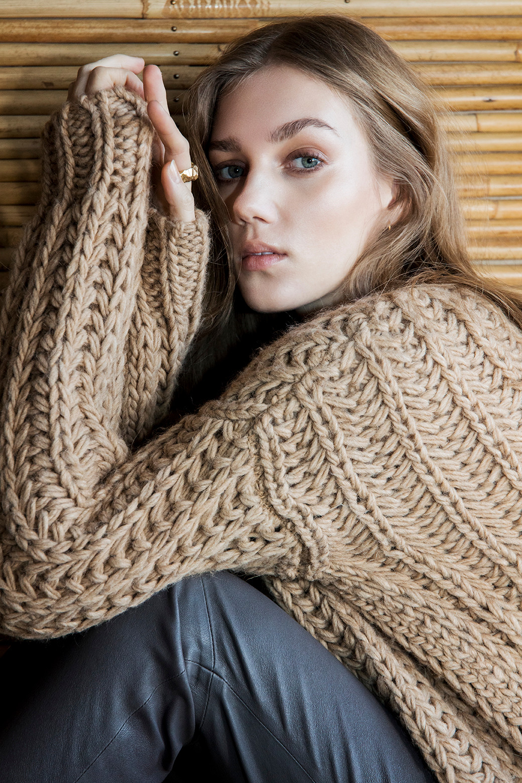Image of   Bertha Sweater i 2 Farver - Camel