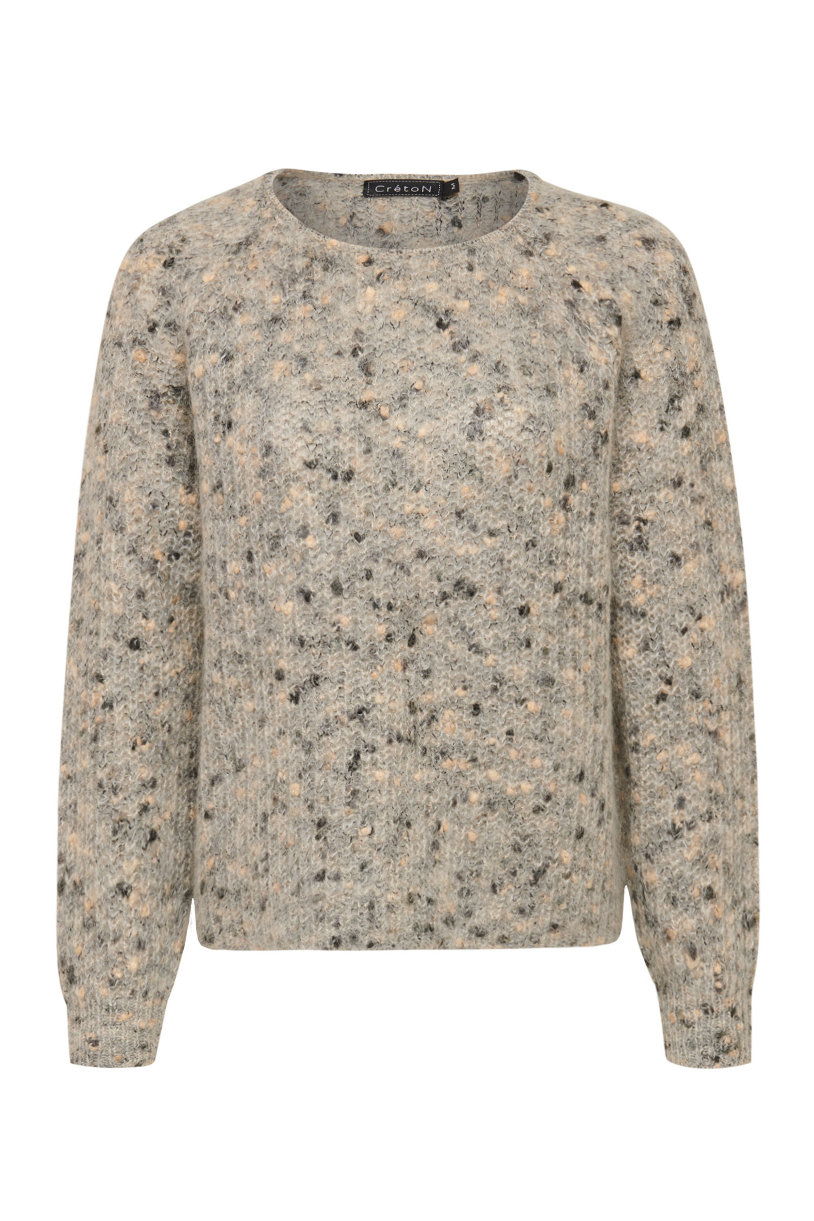 Image of   A-Zoey Sweater i 2 Farver - Beige