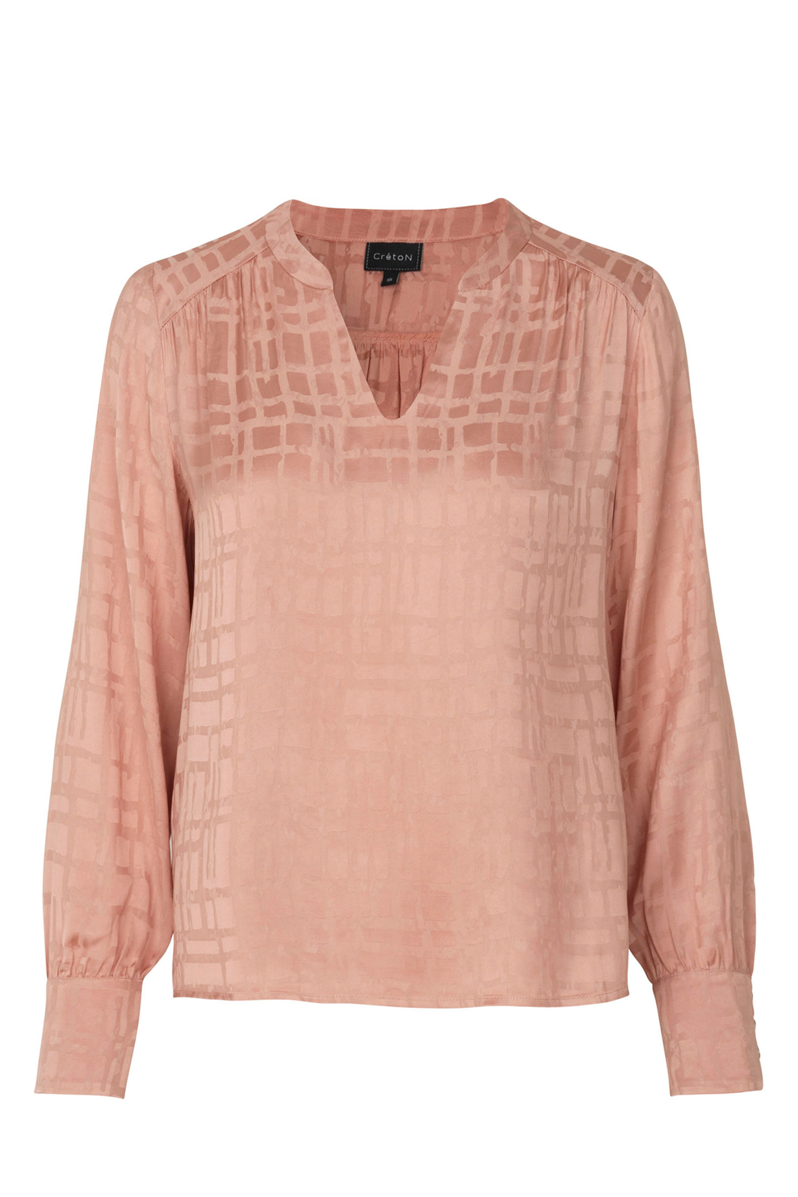 Image of   A-Willie Smuk Bluse i 2 Farver - Rosa