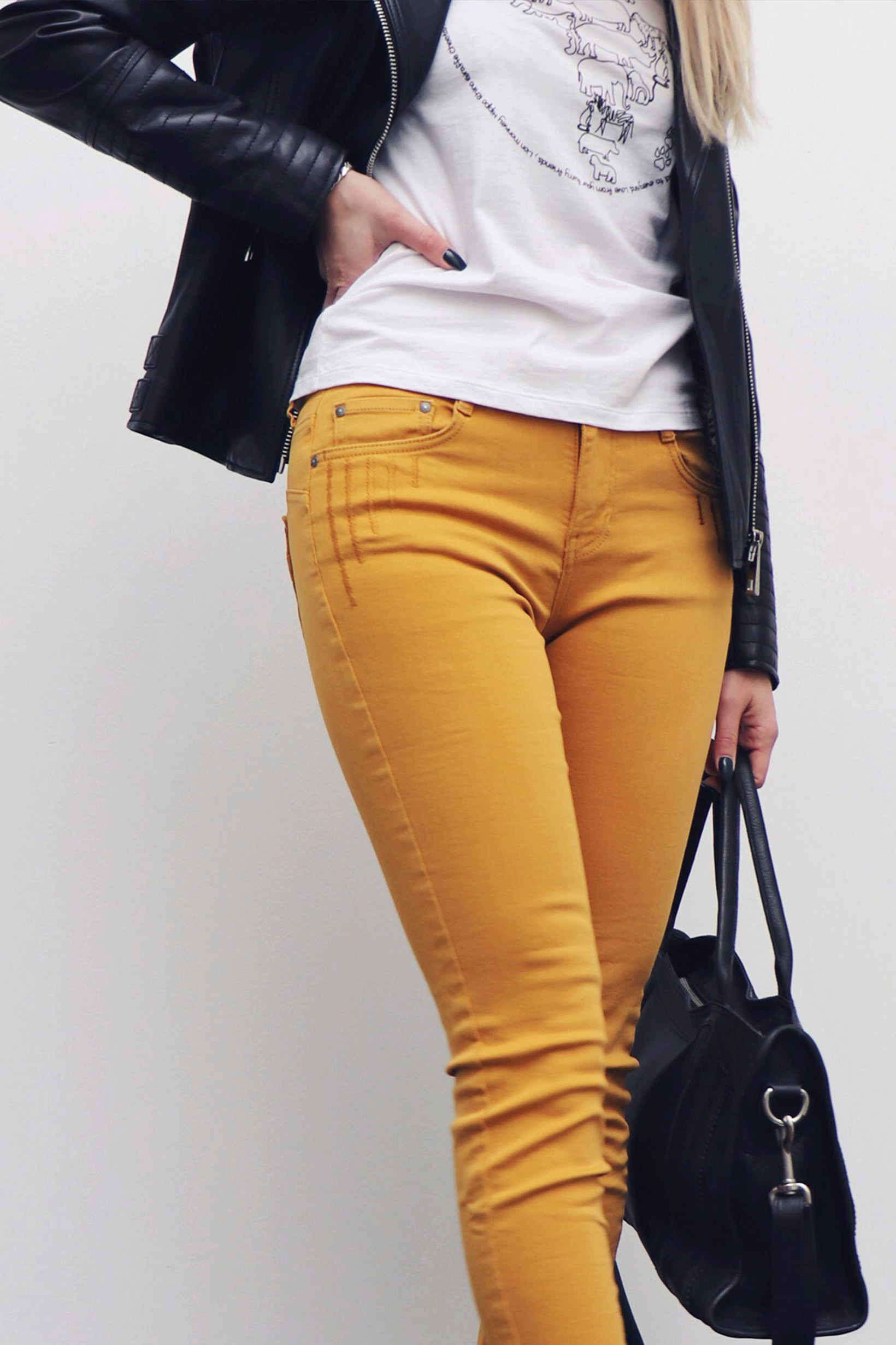 Image of A-Yoyo Jeans i 3 Farver - Golden Ochre