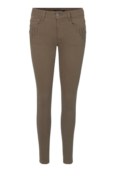 Image of A-Yoyo Jeans i 3 Farver - Taupe