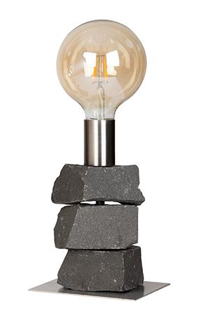 Image of   Bordlampe - 40 Globe Basalt