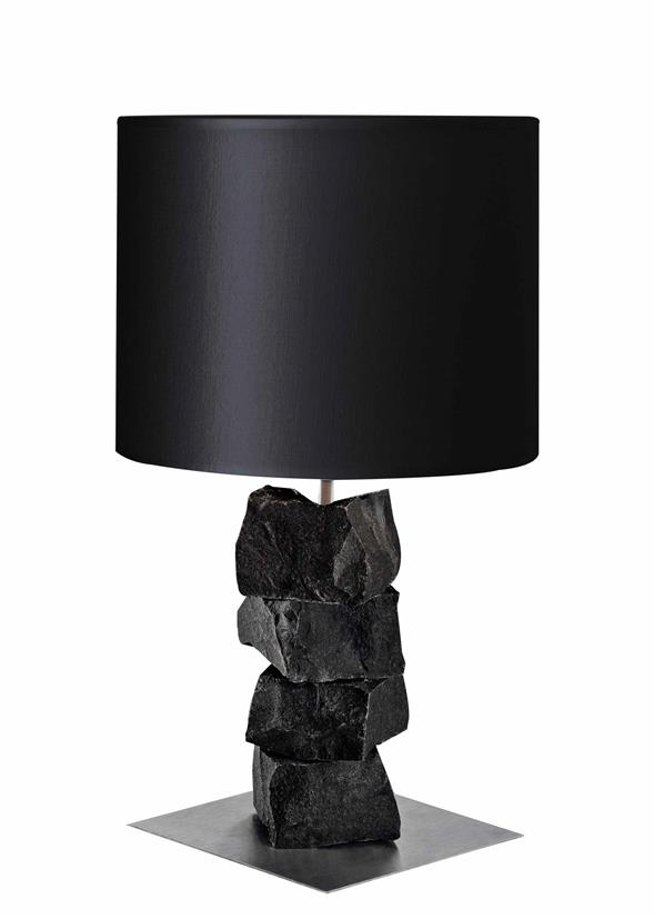 Image of   Bordlampe 50 - Basalt Black