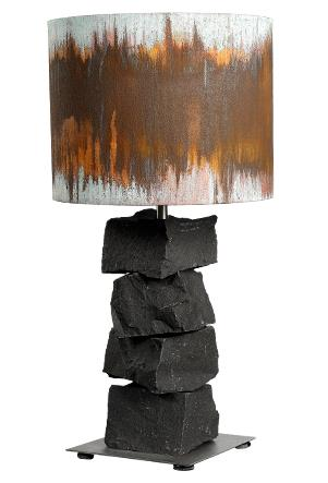 Image of   Bordlampe 50 - Basalt Rust